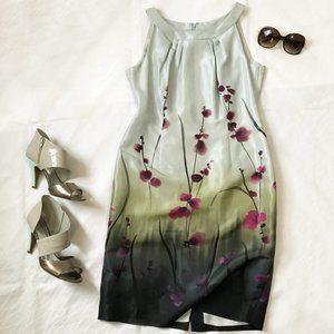 Anne Klein sleeveless silk dress